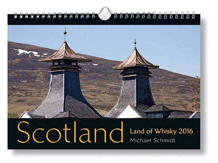 Bildkalender Scotland - Land of Whisky 2016