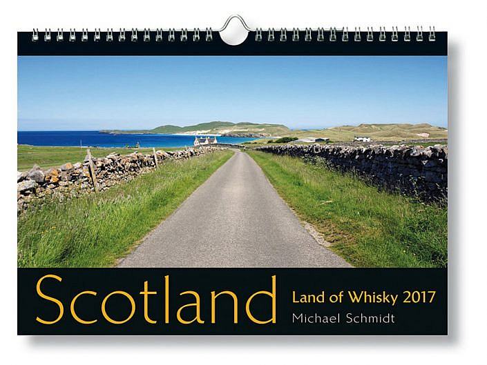 Bildkalender Scotland - Land of Whisky 2017