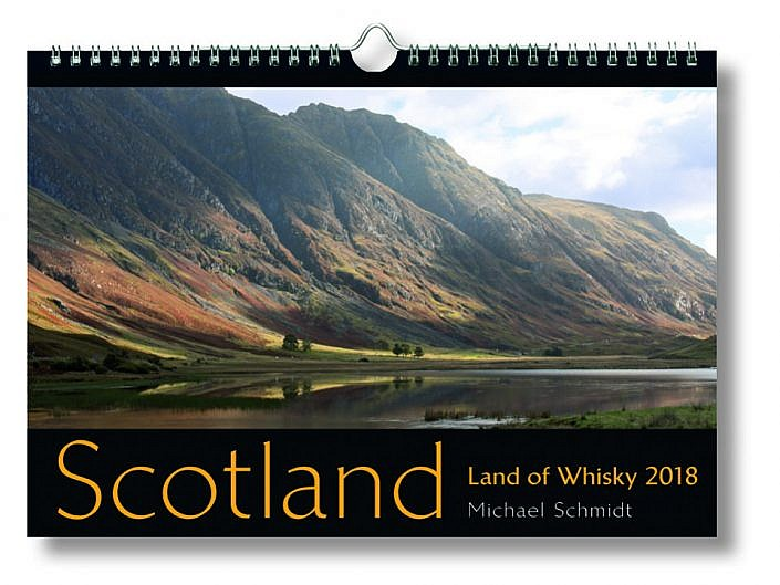 Bildkalender Scotland - Land of Whisky 2018