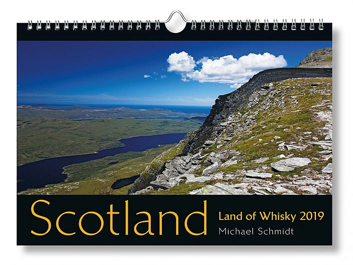 Bildkalender Scotland - Land of Whisky 2019